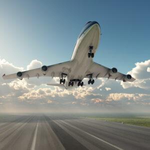 Gruppen Flugreise
