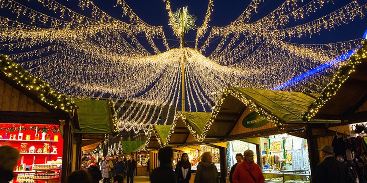 Essen Weihnachtsmarkt.Essen Weihnachtsmarkt